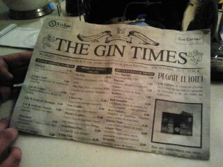 the gin times